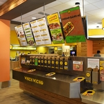 Which Wich sandwich station